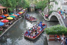 San Antonio Riverwalk  San Antonio, Texas