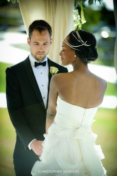 This couple Andrea and Zani. #love #interracial #marriage