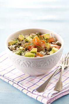 Ensalada de arroz by Raquel Carmona http://www.lostragaldabas.net/