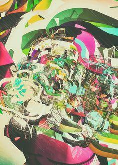 graphic design, galleries, ateli olschinski, illustrations, behance