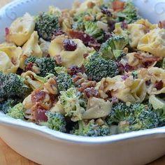 Tortellini Broccoli Salad