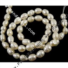 Replicate pearl necklaces