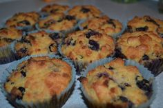 Grain free blueberry lemon muffins from _Practical Paleo_.  These are lovely to have around for a starving breastfeeding mama!