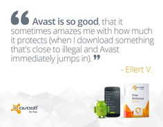#AVAST protects your #PC from illegal applications.