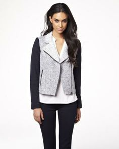 Moto boucle jacket RW&CO. Spring 2014 Collection