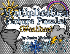 Multiplication Picture Puzzles are a great way for your students to develop multiplication fluency with products up to 144!   12 puzzles are included in this set with each one focusing on a factor from x1 to x12. $