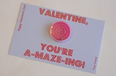 holiday, party favors, idea, non food school treats, valentine day cards, nonfood school, amaz valentin, valentine cards, kid