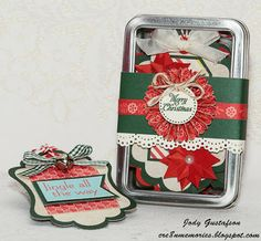 Holiday Tags from CTMH
