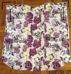 DIY Kimono Cardi Step 3 by Angela Lan, via Flickr