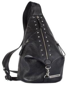 Harley-Davidson� Women's Punk Leather Sling Pack. Sling/Backpack. PK9536L $194.95