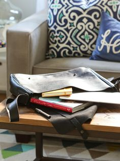 leather messenger bag | gifts for him | @Michael Wurm, Jr. | inspiredbycharm.com