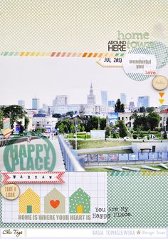 #papercraft #scrapbook #layout.  Challenge Sunday:  Sketch It Out