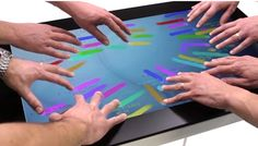 Giant Touch Screen Recognises 40 Simultaneous Touches & Even Works With Gloves