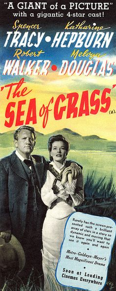 The Sea Of Grass, 1947.  #vintage #movies #1940s