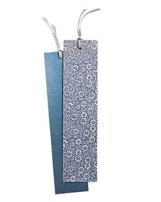Wrapping paper book marks