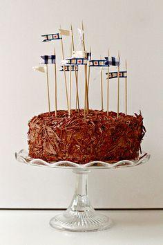 Chocolate Fudge Cake with Chocolate Coffee Buttercream