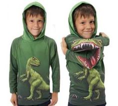 O.M.G.!!!!!! the arms are the BEST! does this come in adult sizes!?  Raptor Hoodie