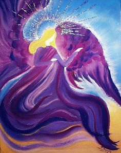 Archangel Zadkiel; Color is Purple; Responsibilities are Forgiveness, Mercy & Benevolence