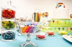 Unicorn Rainbow Birthday Party