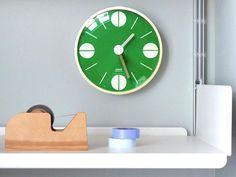Lovely green clock.