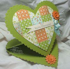 quilt heart, easel cards, quilt design, frame easel, heart easel