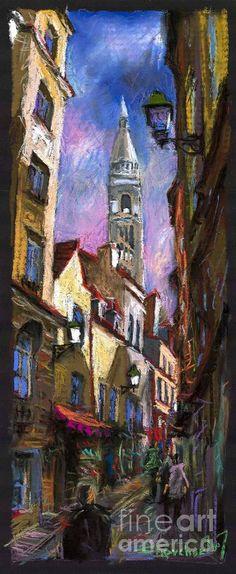 Paris Montmartre by Yuriy Shevchuk