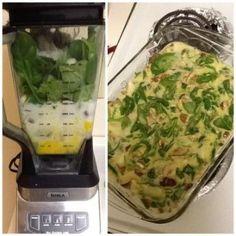 Mushroom and Spinach Breakfast Quiche Recipe