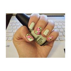 Florals + polka dots