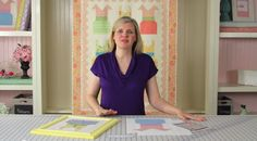 Fat Quarter Shop's Kimberly Jolly shows us how to frame a quilt block!
