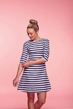 DIY Cute Dress - FREE Sewing Pattern and Tutorial