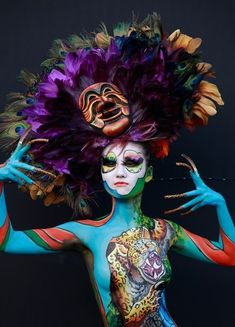30 Extravagant Photographs Of The 2012 International Bodypainting Festival