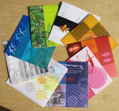 Feng Shui Greeting Cards - a full set of 9 cards. #FengShui #Greeting#card #blank $24 @TamTam Designs