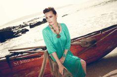 Lily Lurex Dress - £69