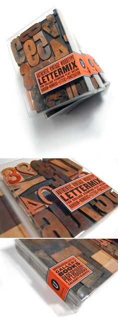 wood type, yes please