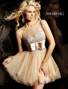 Sherri Hill Fall 2012-Style 2938 - the design! #SHERRIHILLSTYLE