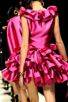 Moschino Fall 2012 Collections.