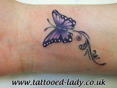 Small Butterfly Tattoo Ideas | butterfly tattoos # wrist tattoos # arm tattoos # colour tattoos