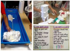 Two Projects That Created Authentic Dialogue About Work Habits (Blog Post) On the first two days of school I had students participate in STEM projects to help us think about the best way to work alone and in a group.