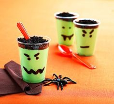simple Halloween desserts