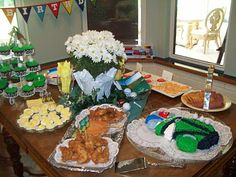 Golf Theme Party Food