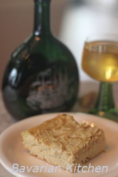 English language, German Onion Cake, Franconian Onion Cake