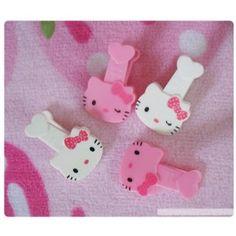 Hello Kitty DIY Clips hello kitti, hollo kitti, kitti clip, kitti diy, hellokitti, hello kitty