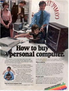 Apple Ad - How to buy a personal computer