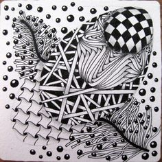 Claudia's World of Zentangles journal, zentangl art, dear friend, friends, cartoon charact, doodles, 3d cartoon, zentagl, claudia