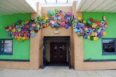 Unusual Middle School Art Activities | Inspirational S.E.N. Schools Inclusive Arts Projects Sculptures ...