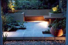 modern gardens, benches, garden patios, garden idea, garden design ideas, landscape designs, seating areas, roof gardens, small garden