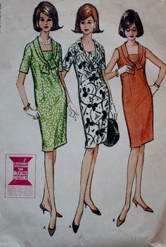 Vintage Sewing Pattern 1960s  Misses' by BluetreeSewingStudio, $7.00