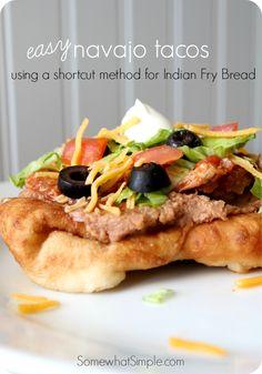 Easy Navajo Tacos Recipe
