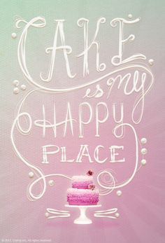 Cake Is My Happy Place - share your passion for crafting! Click this image to enter and share your favorite craft. You could win a KitchenAid Stand Mixer, 100 dollar Amazon card & more from #Craftsy
