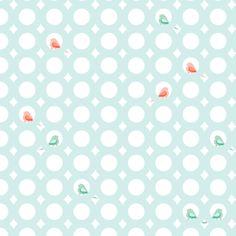 Perching Birds fabric by lottiefrank on Spoonflower - custom fabric